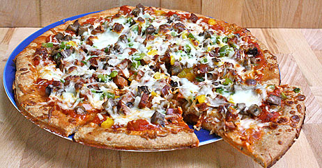 chicken-sausage-pepper-mushroom-pizza-462x242